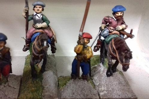 Set 4. Mounted Reivers