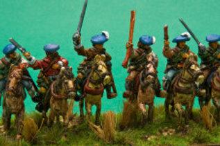 Mounted Highland Gentlemen