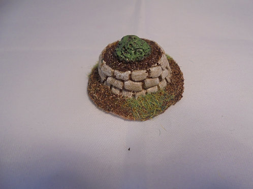 O Gauge Decorative Planter with Shrub