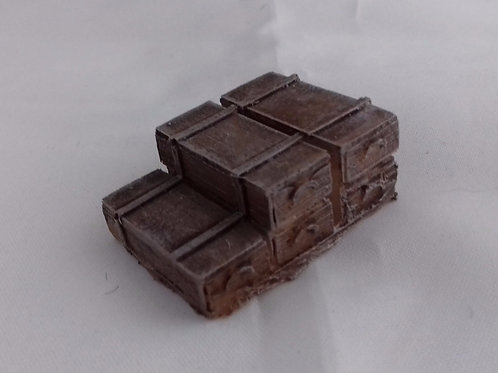 O Gauge Stacked Crates