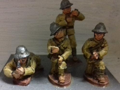 Artillery Crew in 1932 Helmet