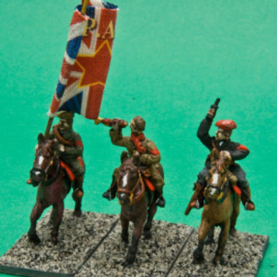 Irregular/Militia Cavalry Command. Civilian Dress