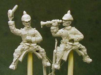 Dragoon Command, Officer and Trumpeter