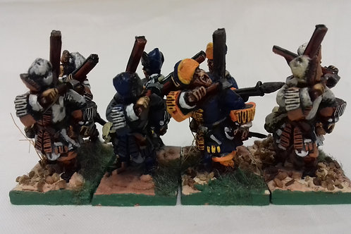 Grenadiers in Cloth Cap, Assaulting