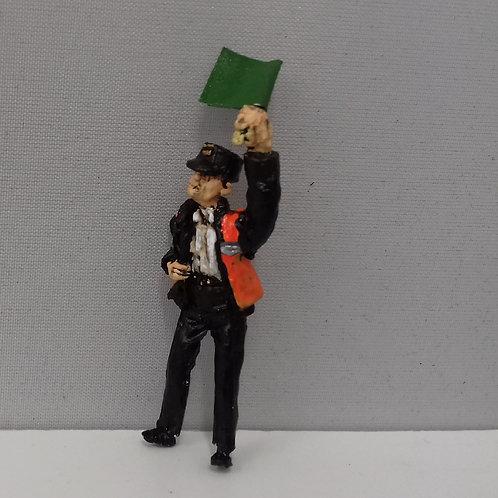 High Viz Guard with Flag (Left Hand)
