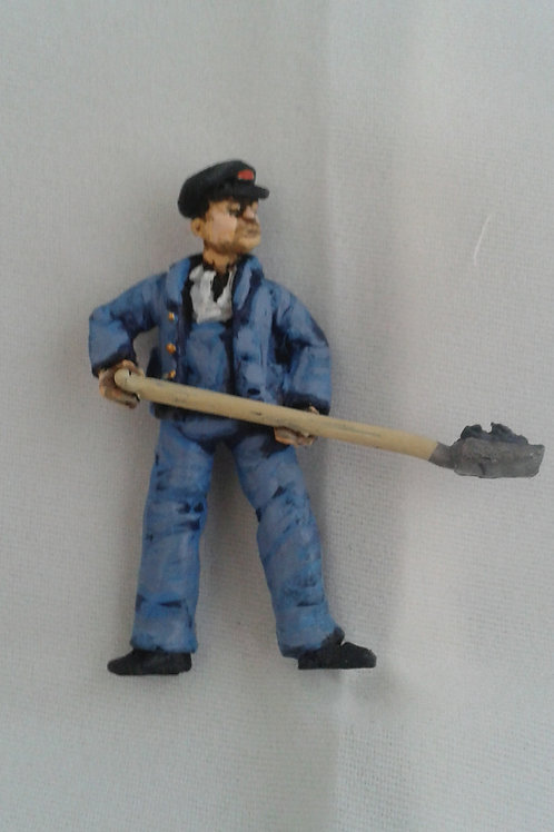 O Gauge Steam Fireman