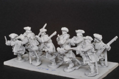 Dismounted Dragoons in Tricorn