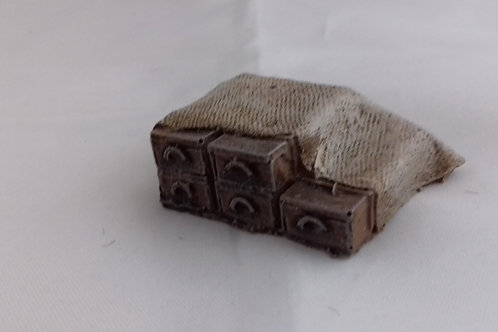 28mm 1/2 Covered Crates