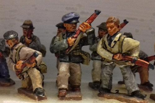 Civilians with British Equipment