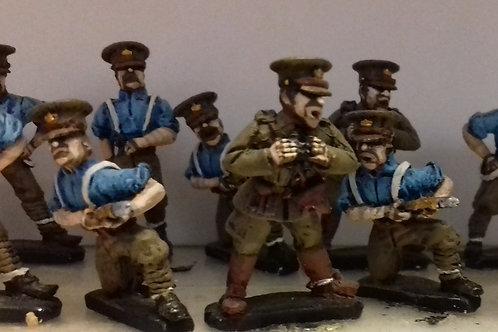 Artillery crew in SD cap