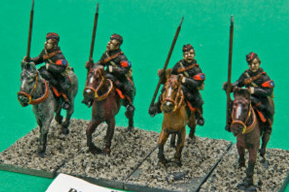 British Union of Fascists Cavalry with Lance