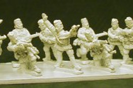 Infantry skirmishing in Glengarry with Officer