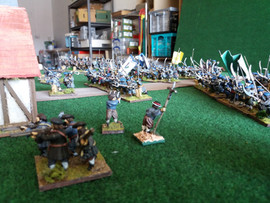Covenanter Gunners withdraw