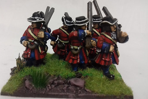 Musketeers, Marching