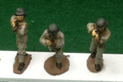 Infantry with rifle, German 1935 Helmet