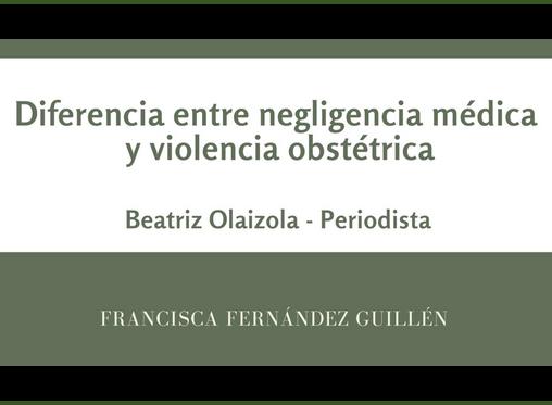 La diferencia entre negligencia médica  y violencia obstétrica