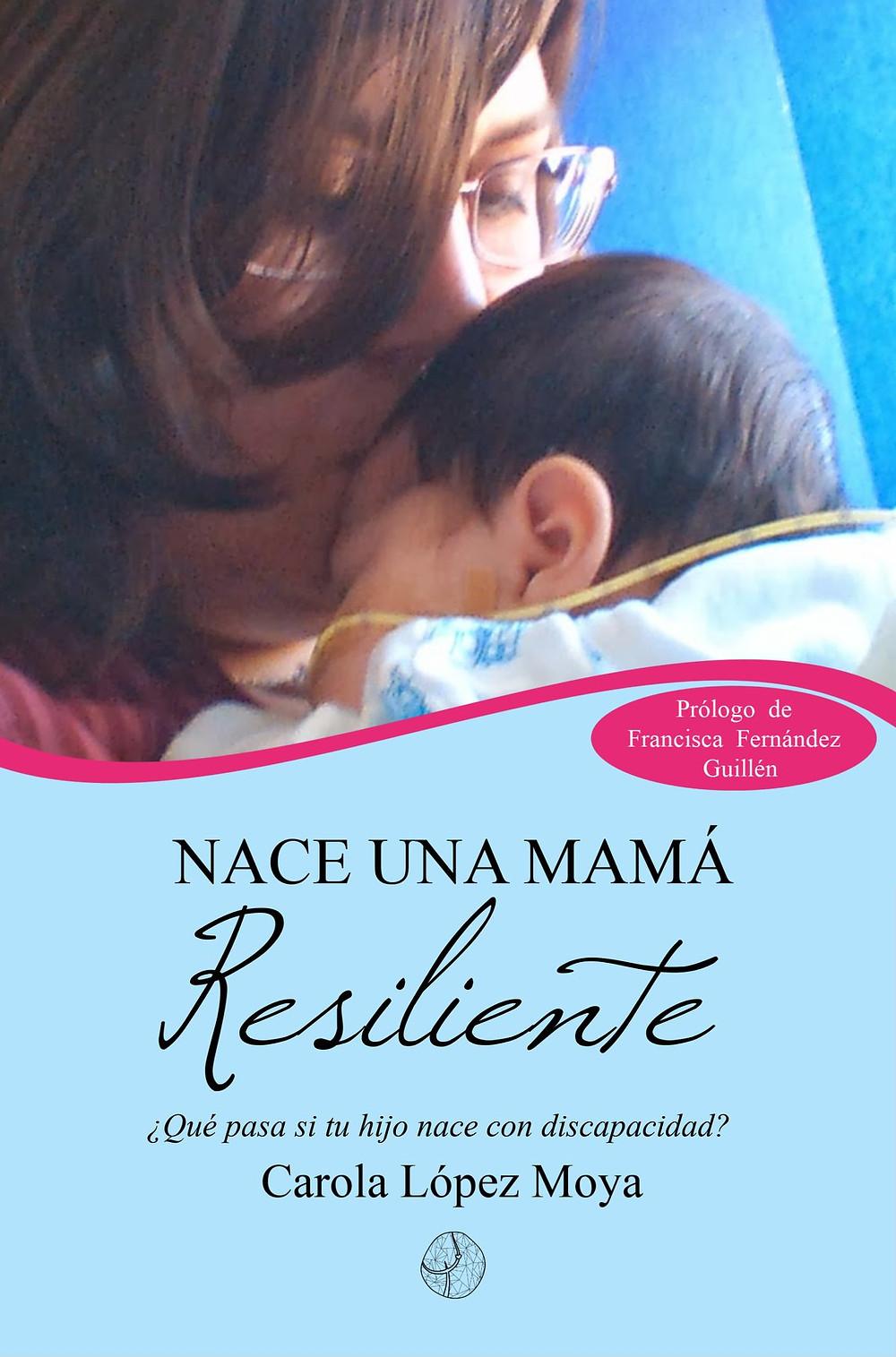 """Portada del libro """"Nace una mamá resiliente"""""""
