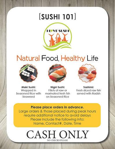 I Love Sushi 101