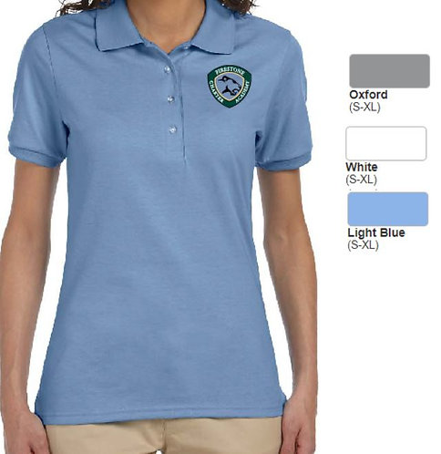Embroidered Ladies SpotShield Blend Jersey Polo - AB437W