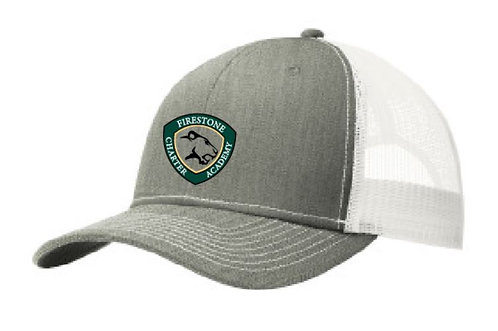 Embroidered Snapback Trucker Hat-SMC112