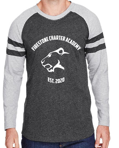 Men's Game Day Mash-Up Long Sleeve Jersey Tee - AB6934
