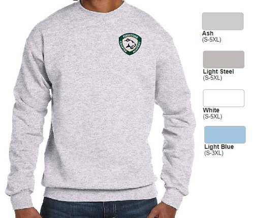 Embroidered Adult Heavy Blend Crewneck Fleece- ABP1607