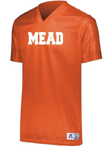 Mead Men's Solid Color Football Jersey - 593M