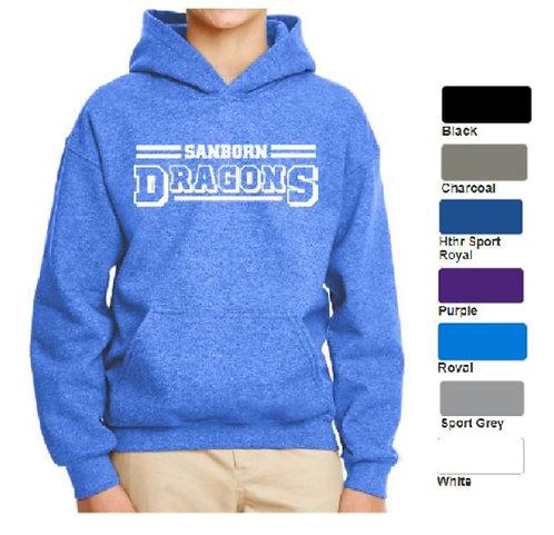 Youth Heavy Blend Hooded Sweatshirt - ABG185B