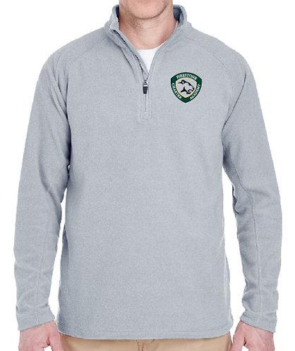 Embroidered Men's Quarter Zip Cool & Dry Fleece - AB8180
