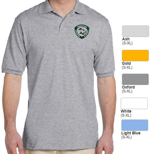 Embroidered Adult SpotShield Blend Jersey Polo - AB437
