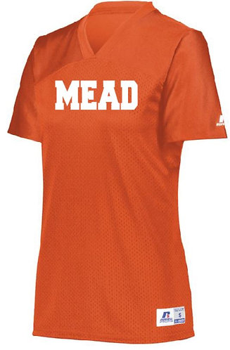 Mead Ladies Solid Color Football Jersey - 593X
