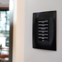 Wireless keypads to start your favourite playlist with one press of the button.