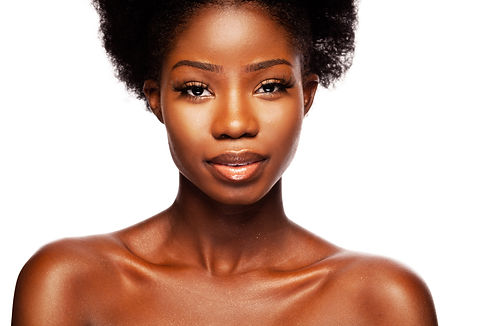 African beauty woman. A Young Beautiful