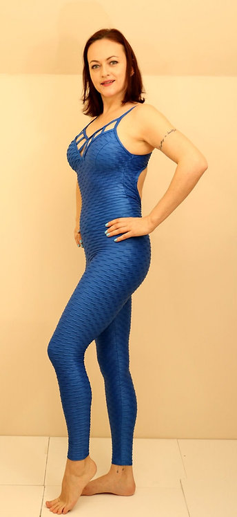 Textured Shiny Jumpsuits / S 523