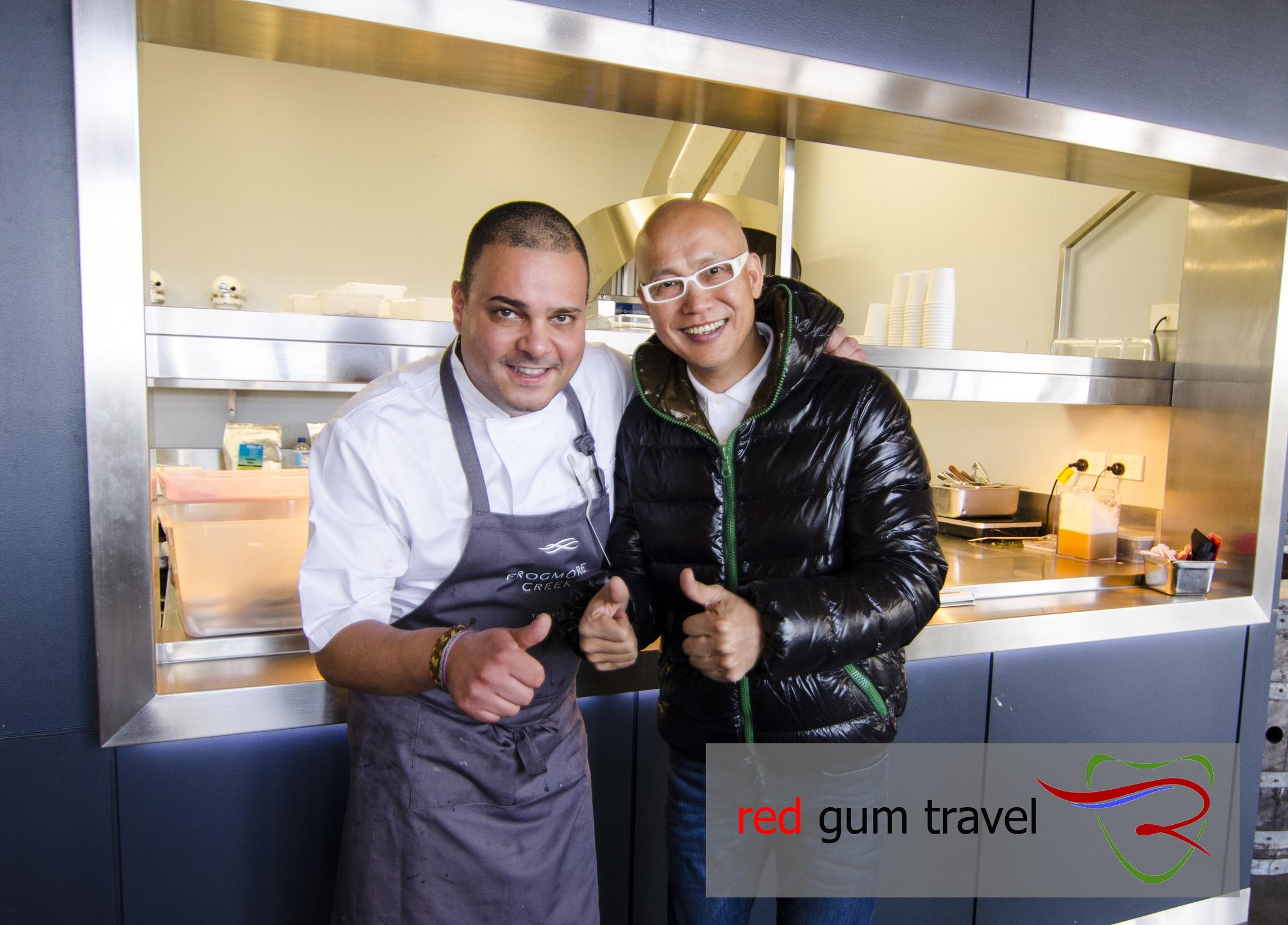 Chee & Frogmore Creek Chef Rueben