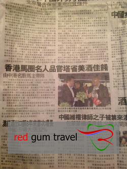 Article in Chinese Media