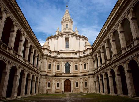52. Borromini's genius and Sant'Ivo alla Sapienza