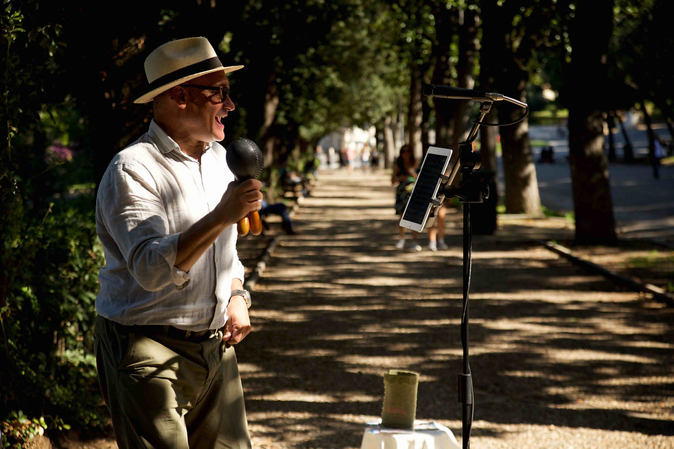 Cuban Music in Villa Borghese