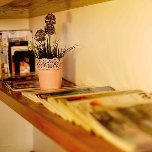 A classy shelf