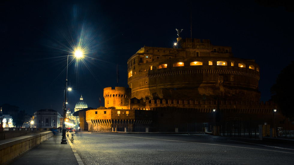 Castel Sant'Angelo and St. Peter's Dome