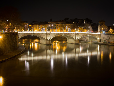 155. Ponte Vittorio, Slow Shutter for a Speed Recovery to Light
