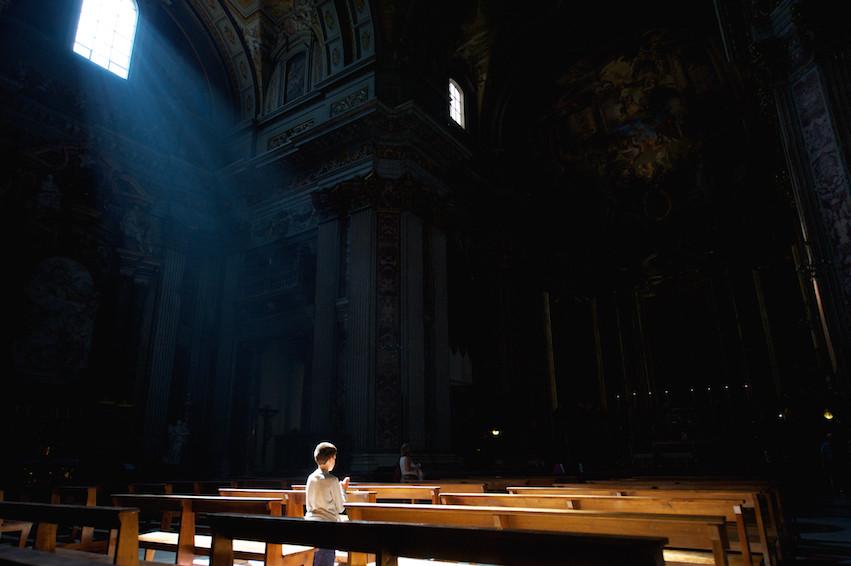 The prayer, Rome Photo Fun Tours