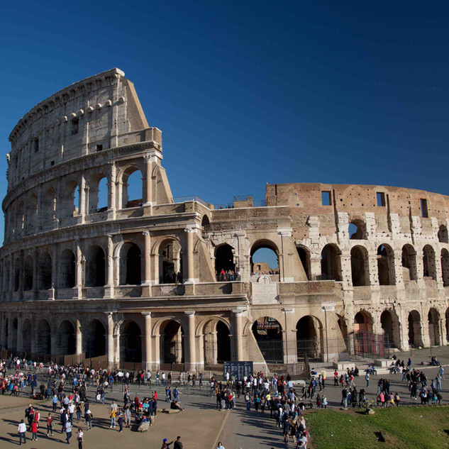 A view on the Colosseum.