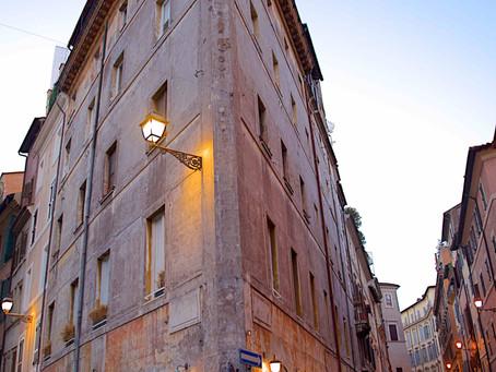 68. Via dei Coronari, an elegant, historical Roman street
