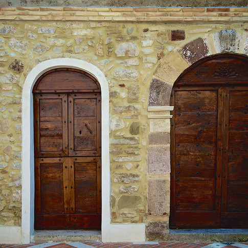 The entrance to tradition