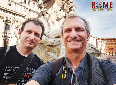 113. Street photography in Rome becomes more interesting with creative clients