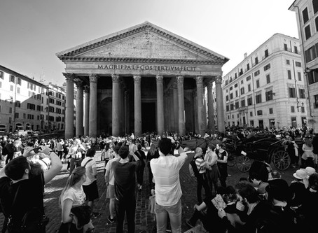 17.This is Pantheon…. and the crowd around it