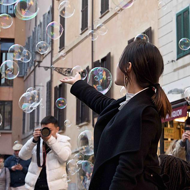 Photographing Fun in Rome