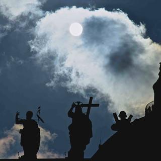 Saint Peter's Dome at sunset