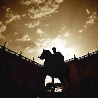 Statue of Marco Aurelio at Campidoglio